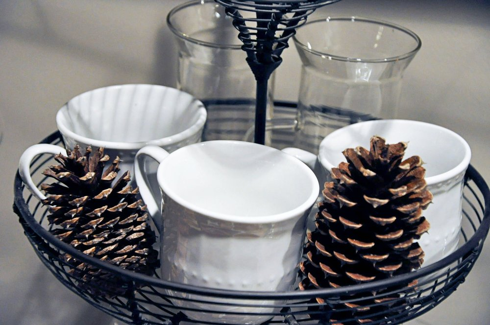 Haymount Homes Hot Cocoa Bar Mugs