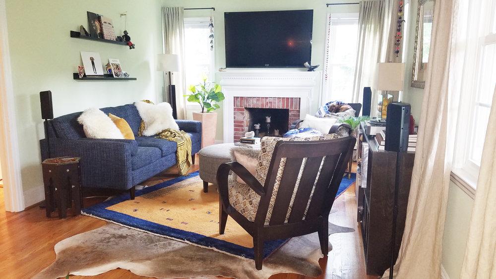 Haymount Homes Westmont Living Room