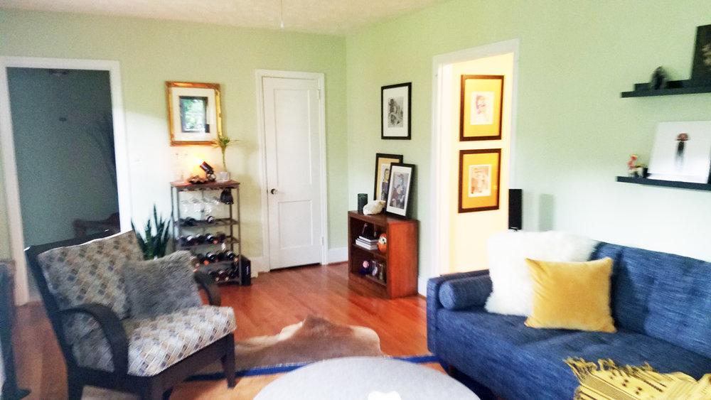 Haymount Homes Westmont Living Room 2