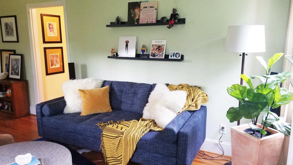 Haymount Homes Westmont Living Room 3