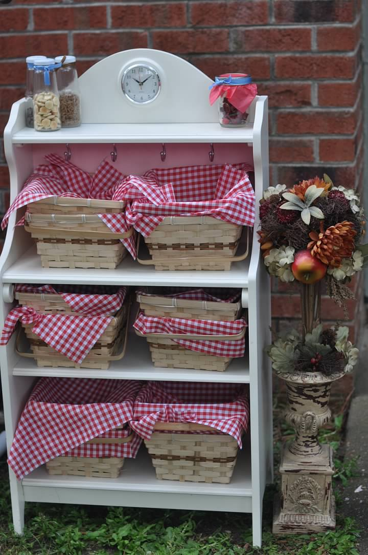 Haymount Homes Little Red Riding Hood Party Red picnic basket decor 2.jpg