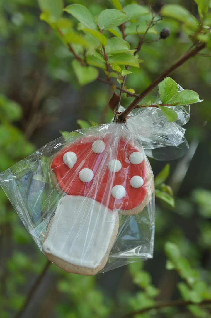 Haymount Homes Little Red Riding Hood Party Food Mushroom Cookie Tree 3.jpg