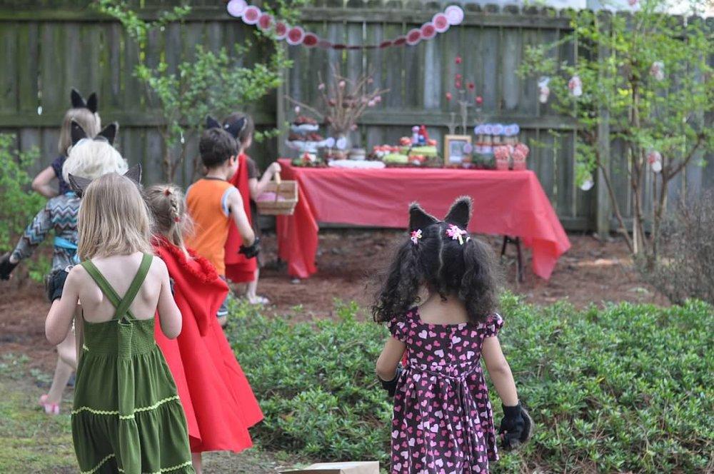 Haymount Homes Little Red Riding Hood Party kids 2.jpg