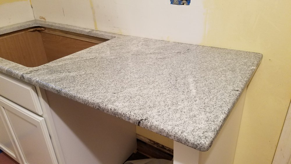 Haymount Homes Glenville Kitchen Renovation granite counter