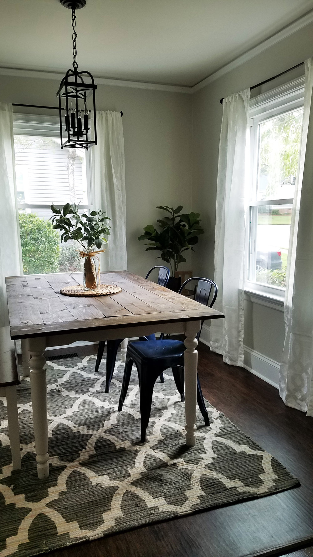 Haymount Homes Historical Fayetteville House NC Glenville Ave dining room 2