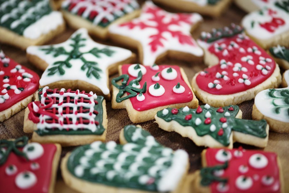 Haymount homes christmas cookies