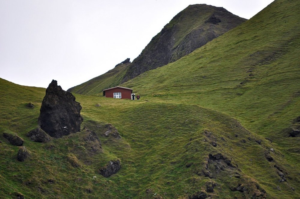 Vestmannaeyjar, off the southern coast of Iceland