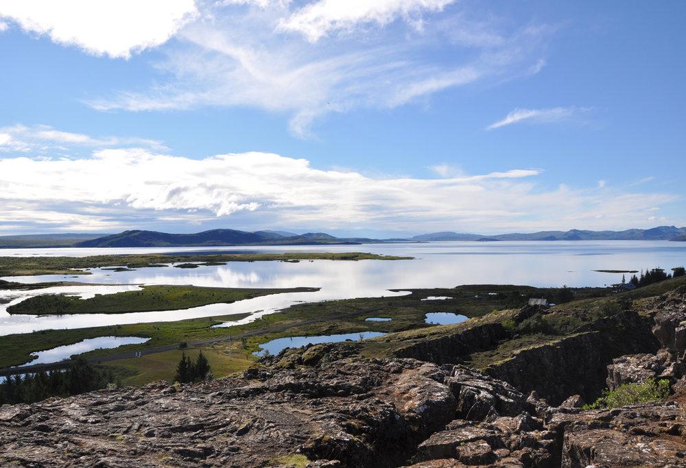 Lake Þingvellir