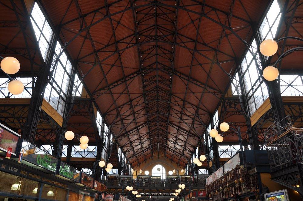 Nagyvásárcsarnok, or Great Market Hall