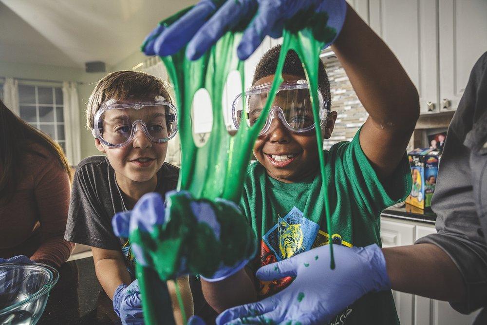 Cub Scouts STEM Slime
