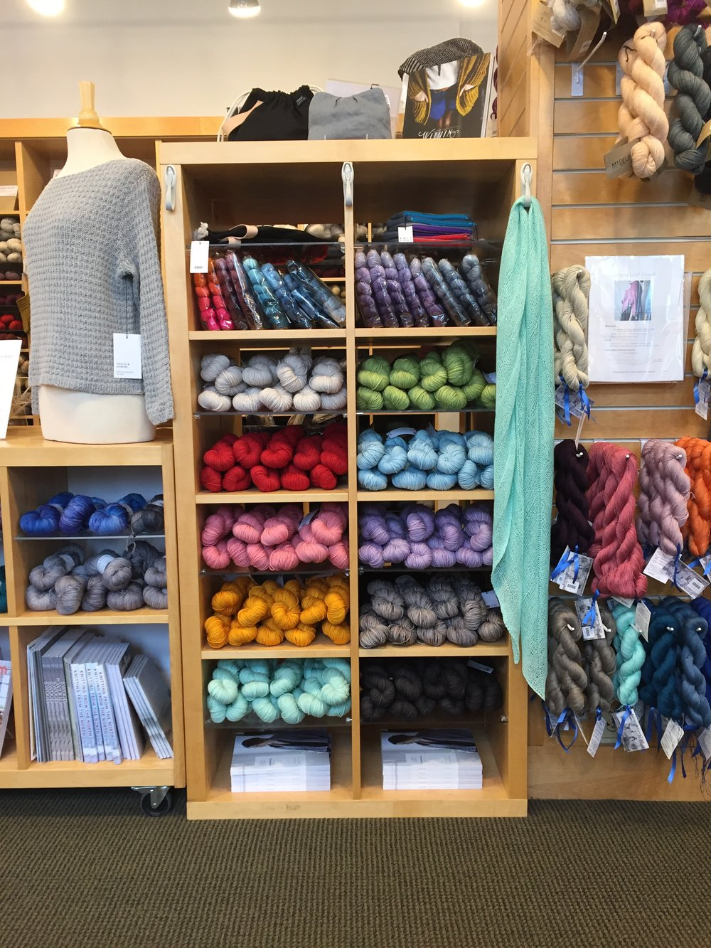Pigeonroof Studios and Knit Purl collaborations