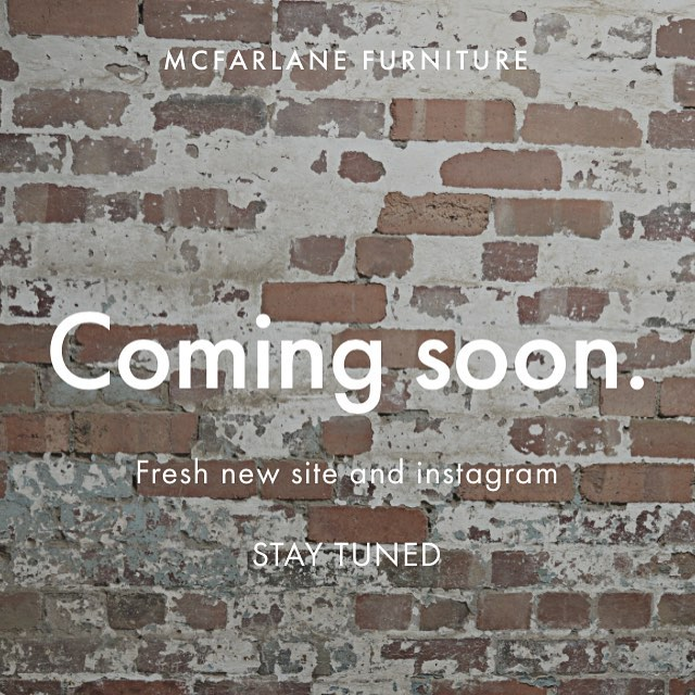 Stay tuned  New website and instagram on their way.