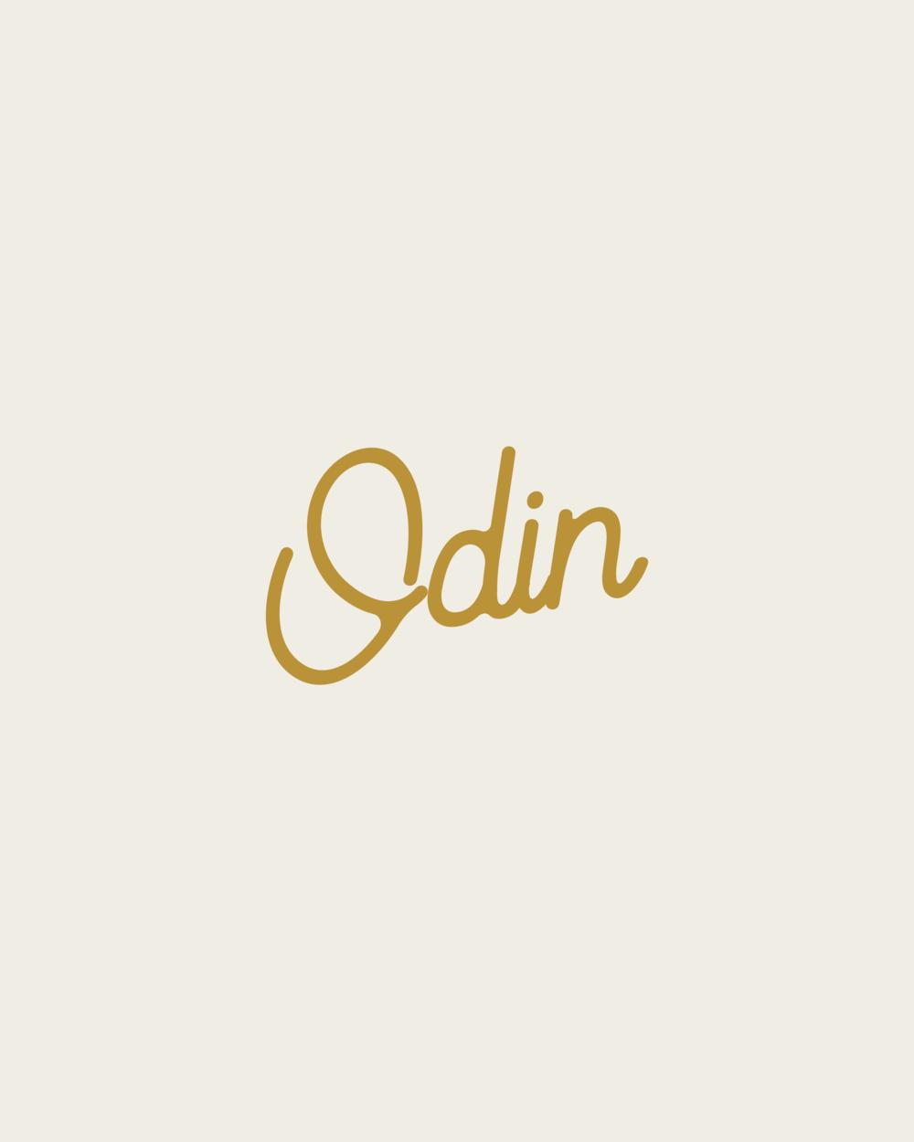 Odin Marketing House Branded Secondary Typeface