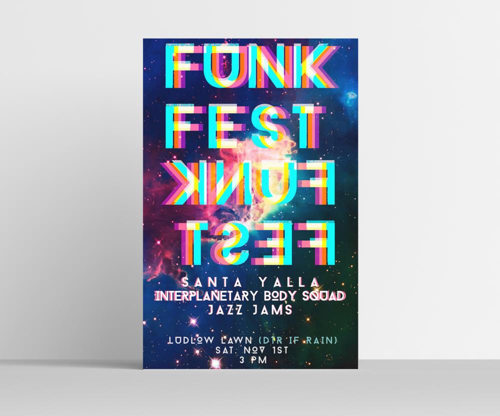 Funk Fest Poster
