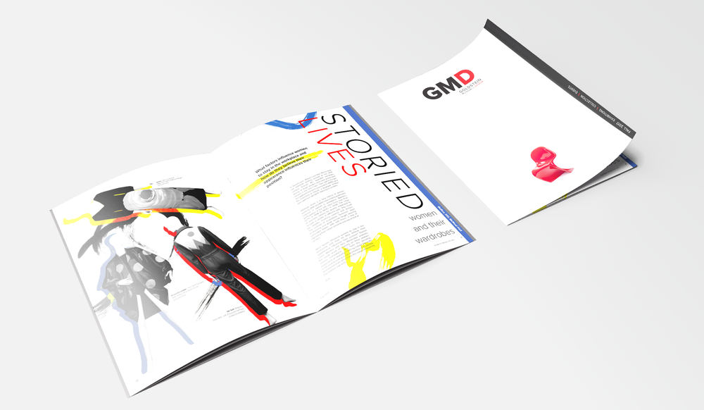 Layout Design & Direction - Creative control over magazine layout, within branding guidelines.