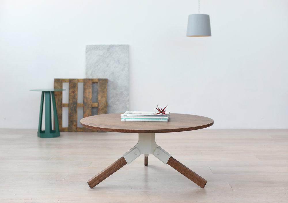 Conrad Coffee Table   Ivory