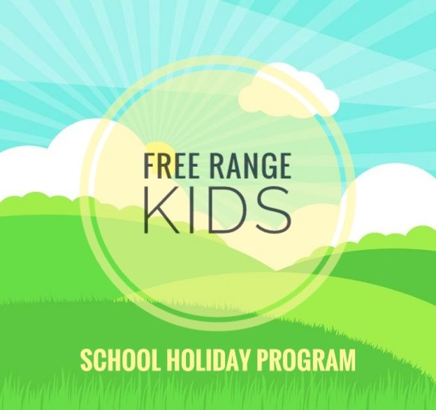 Why Free Range Kids? - We love for those little people in your life to have a good time while you are too! Any day of the week, your kids can be out doors, enjoying the sunshine, making the most of a fenced space safe and exciting play equipment and toys at The Greenhouse. Each School Holidays we help you plan the kids entertainment and activities by putting together our School Holiday program.