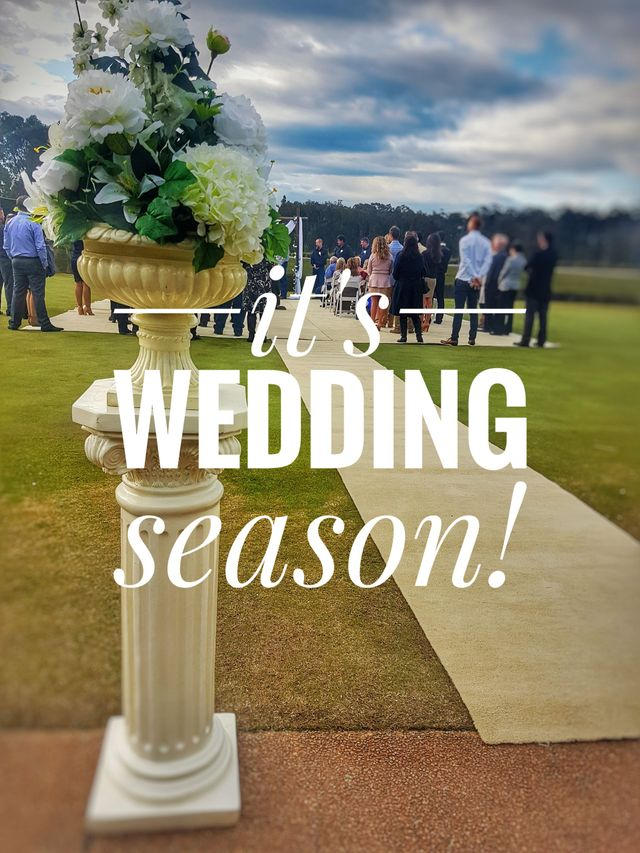 Wedding Season is here! — The Greenhouse Eatery