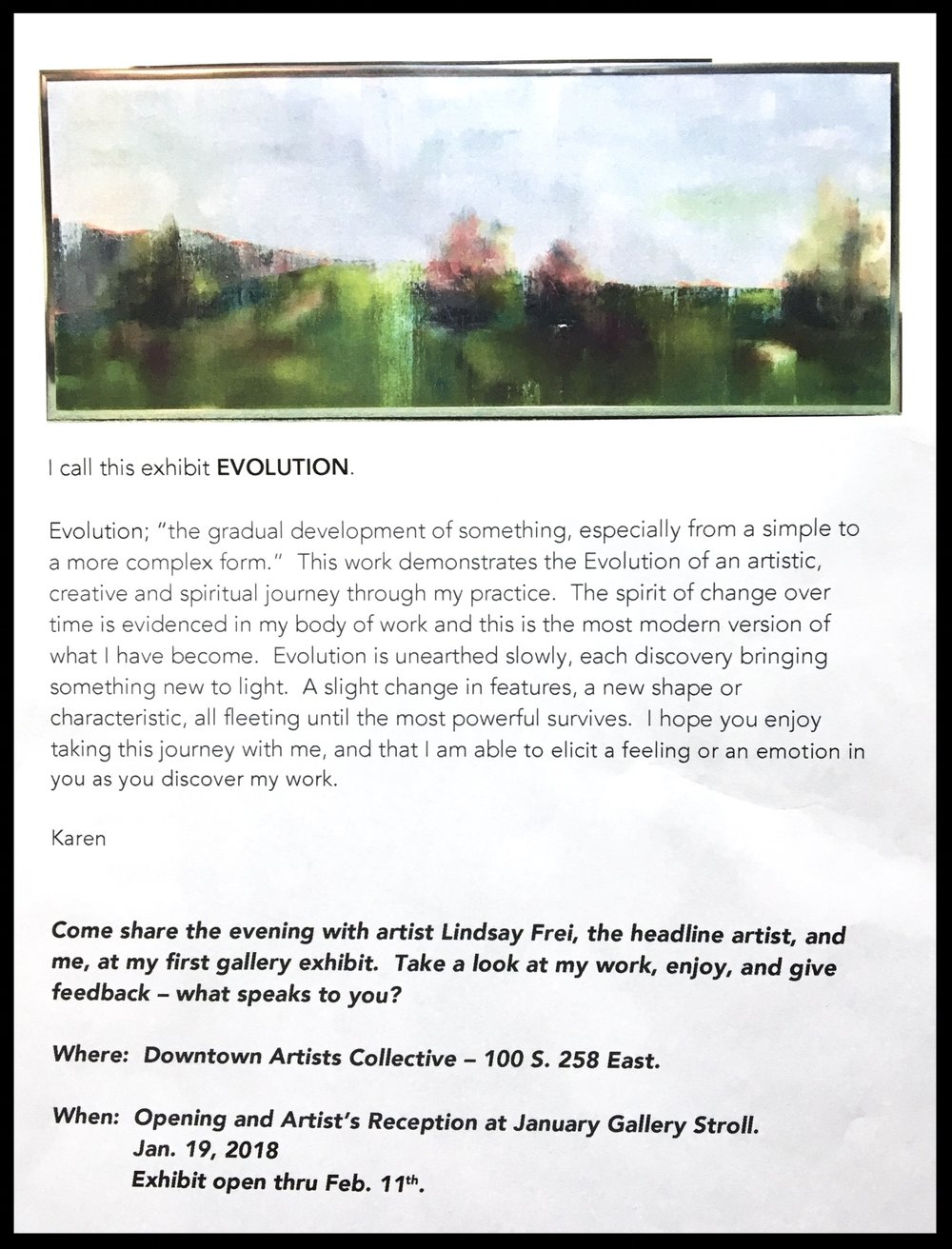About my work in the DAC exhibit.