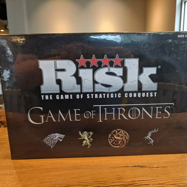 We got new things yesterday! Yay!!! ❤️ #SFGameChest Game of thrones RISK looks intense! Also, werewords and a cool and reasonably priced dice box!!! . . . #Inventoryday #gameshop #GameChestCommunity #boardgamegeek #flgs #hifromsd #DTSiouxFalls