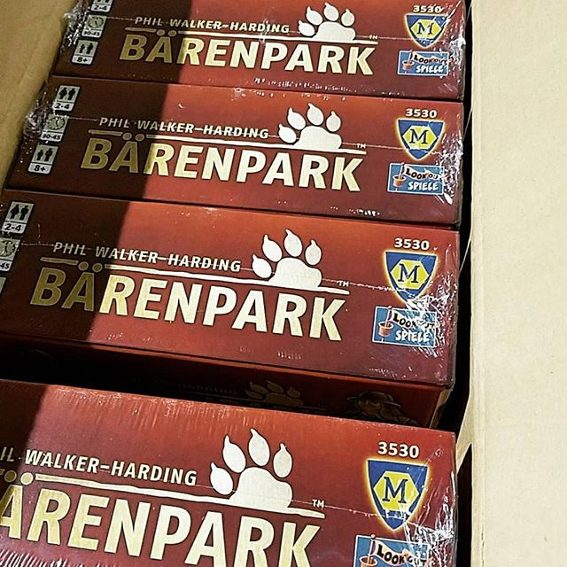 Huge day for Game Chest! #barenpark is finally in reprint and we have several copies!!!! This game is one of the first we ever posted about! 😍😍😍 We're so excited! #SFGameChest . . .  #Inventoryday #gameshop #FLGS #boardgamegeek #bgg #hifromsd #DTSiouxFalls
