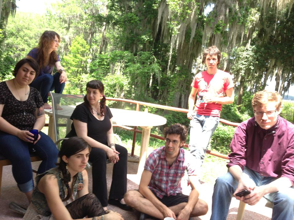SAW's first graduating class celebrates in the sun and Spanish moss.