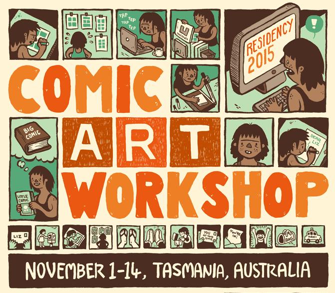 Comics Art Workshop Aus