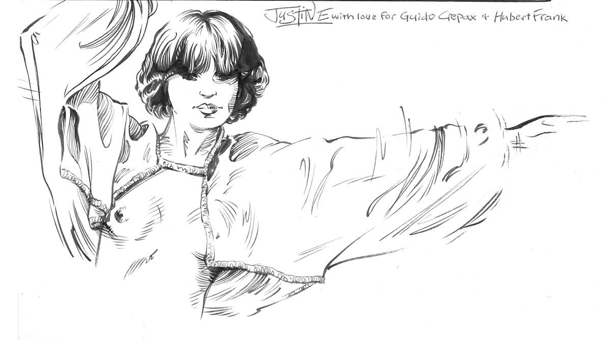 Detail, Barefoot Justine's Valentina
