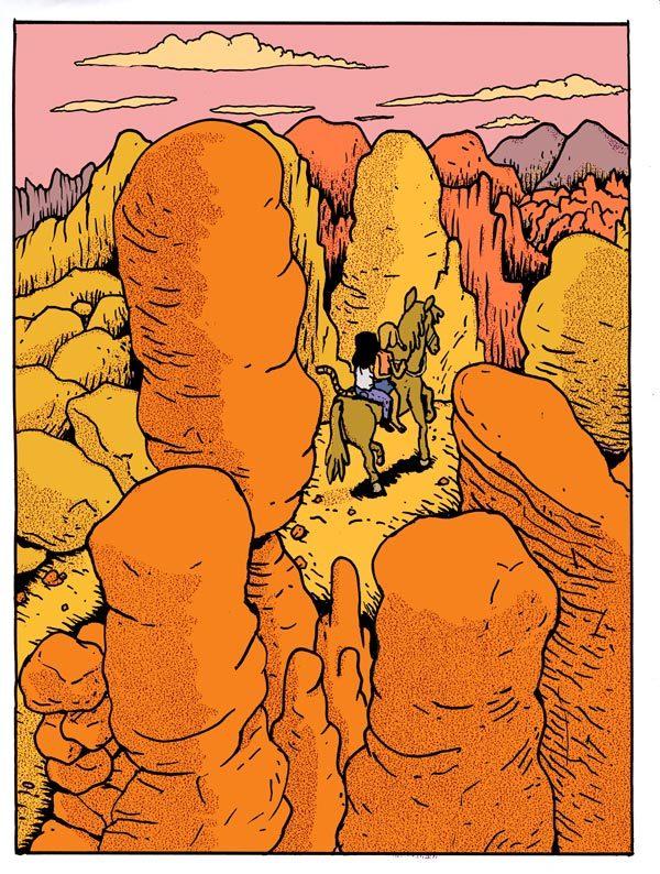 James Turek, Desert Adventure
