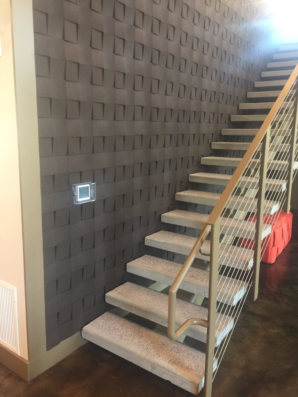Organic Blocks - Chock Aubergine - Staircase 1.JPG