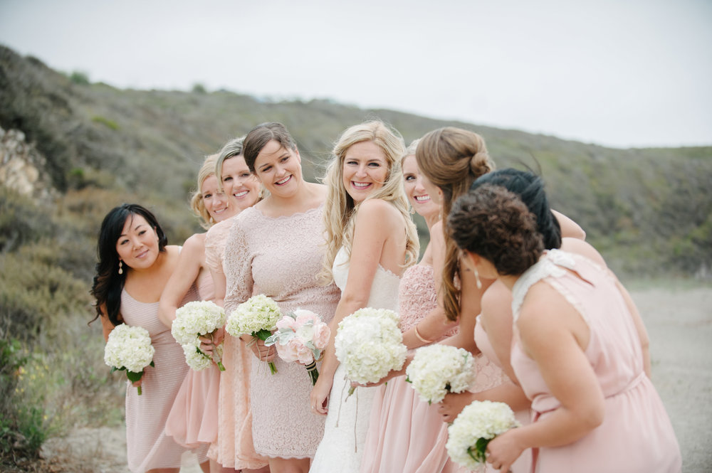 Floral boquets made for the bride and bridesmaids.