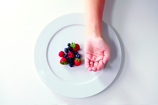 For women we recommend 1 cupped-hand sized portion of carbohydrates with most meals.