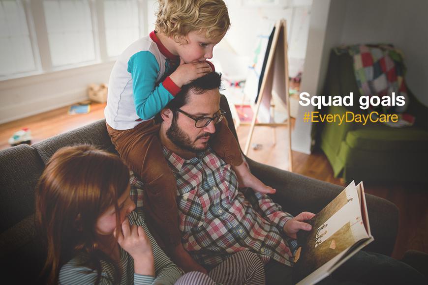 Fam squad = Best squad. #SquadGoals #EveryDayCare