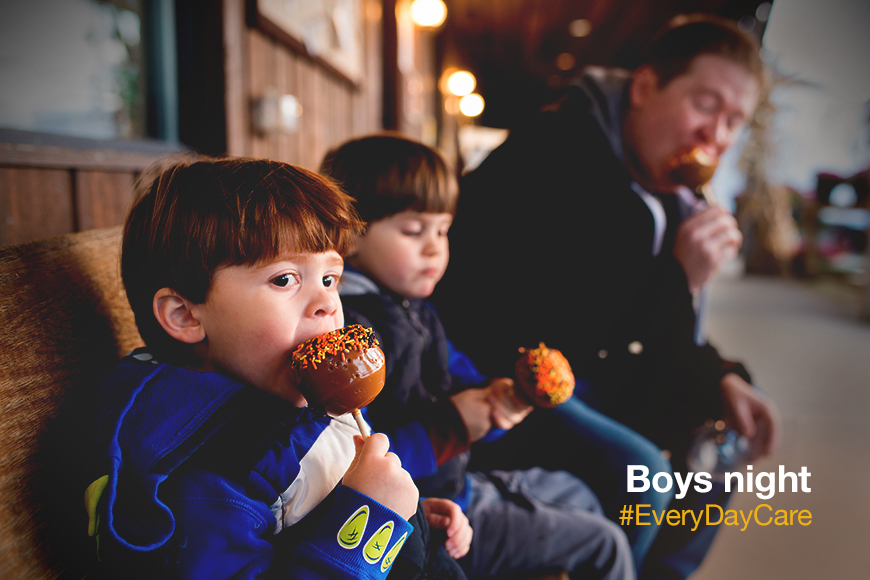 Sometimes you just need a night with the guys. #BoysNight #EveryDayCare