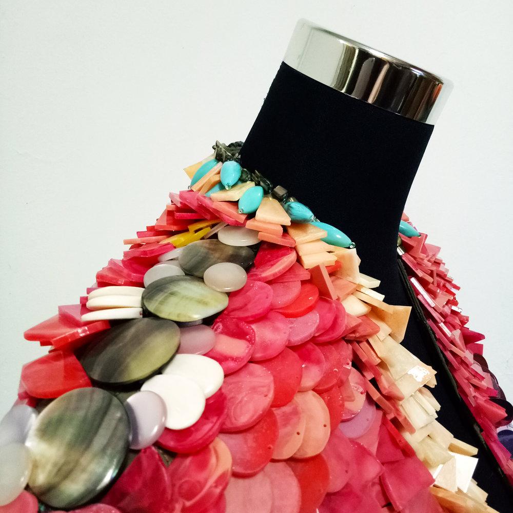5. RAZZLE DAZZLE. Louise Meuwissen x Bianca Mavrick, 2017 detail..jpg