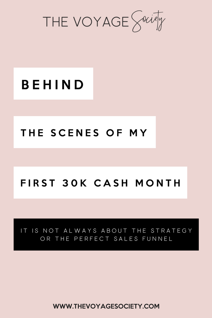 BEHIND THE SCENES OF MY FIRST 30K CASH MONTH