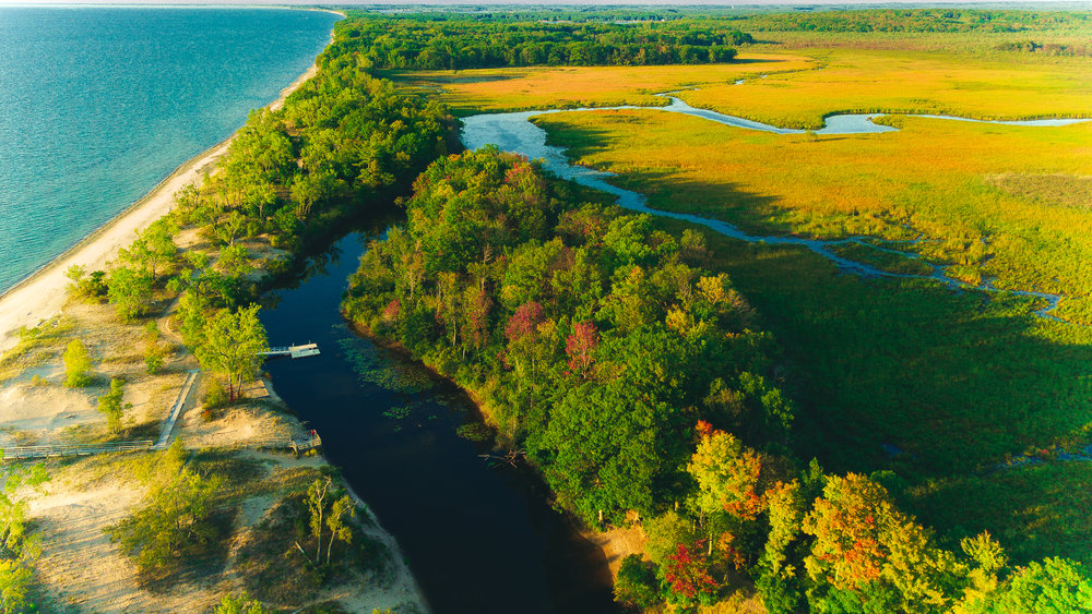 I Love New York & Oswego County Tourism - Deer Creek Marsh & Sandy Island Beach