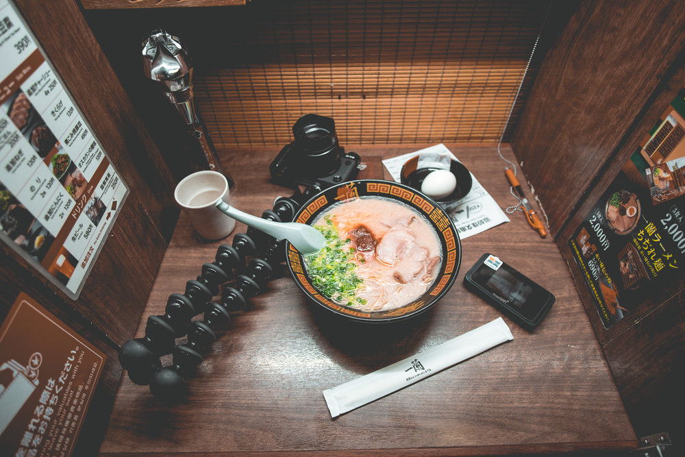 ICHIRAN RAMEN Along with my gear plus Flytpack