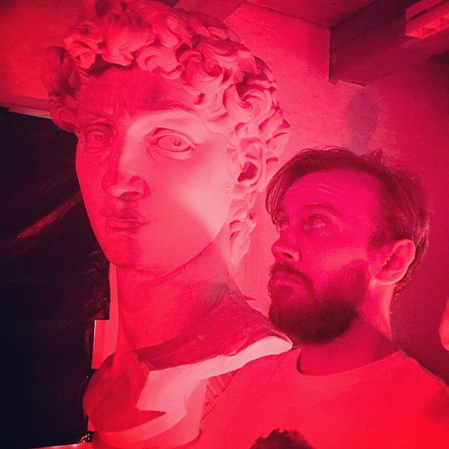 David & jeg! #kulturnatten17