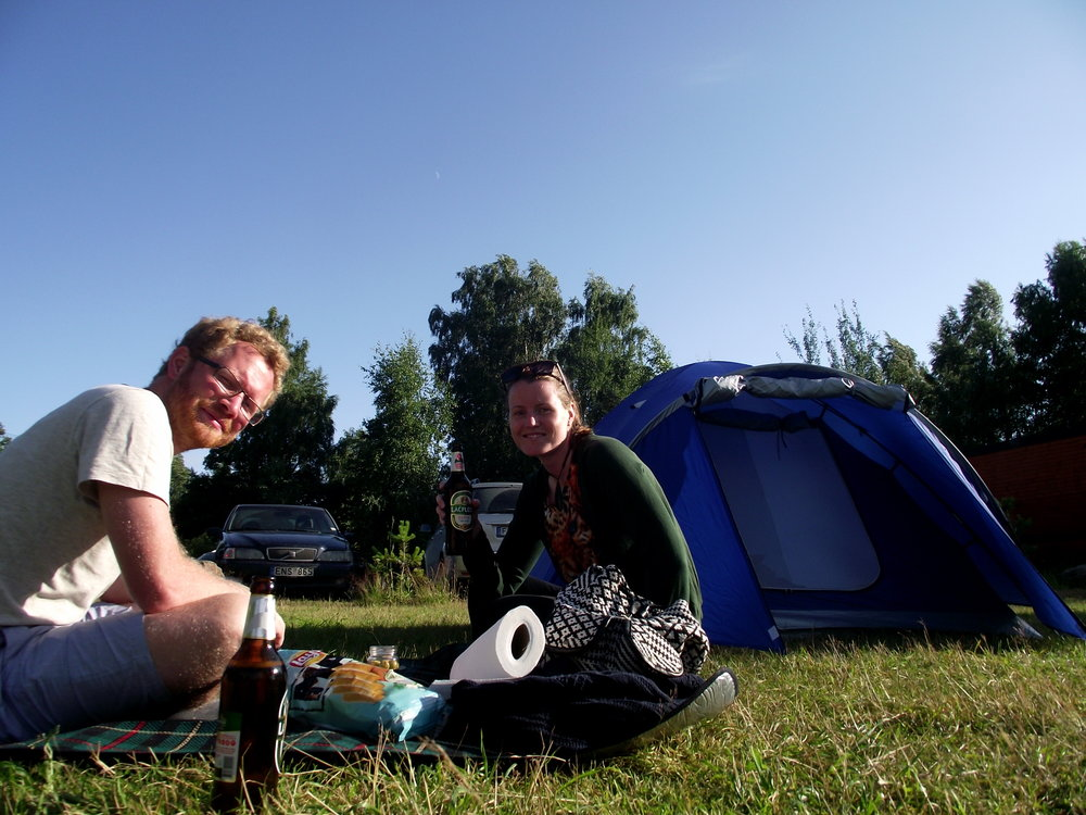 Take a tent to save money on your Europe on a budget trip!