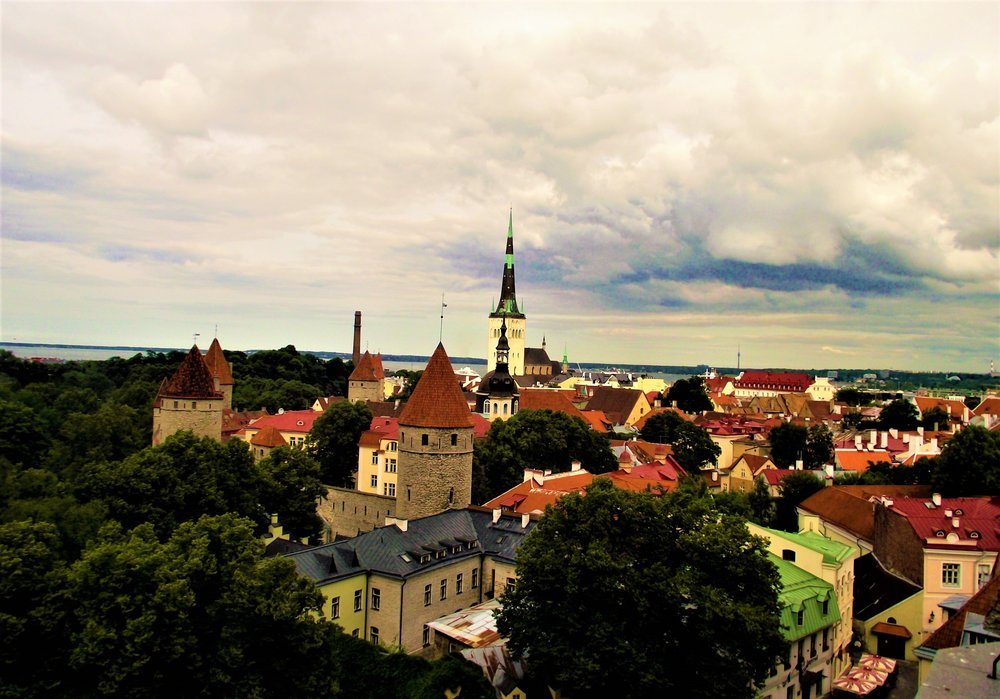 Estonia Tallinn Old Town Baltic roadtrip itinerary