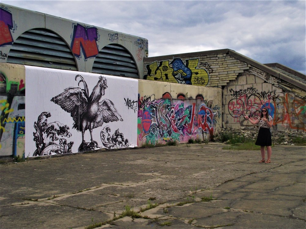 Estonia Tallinn Street Art