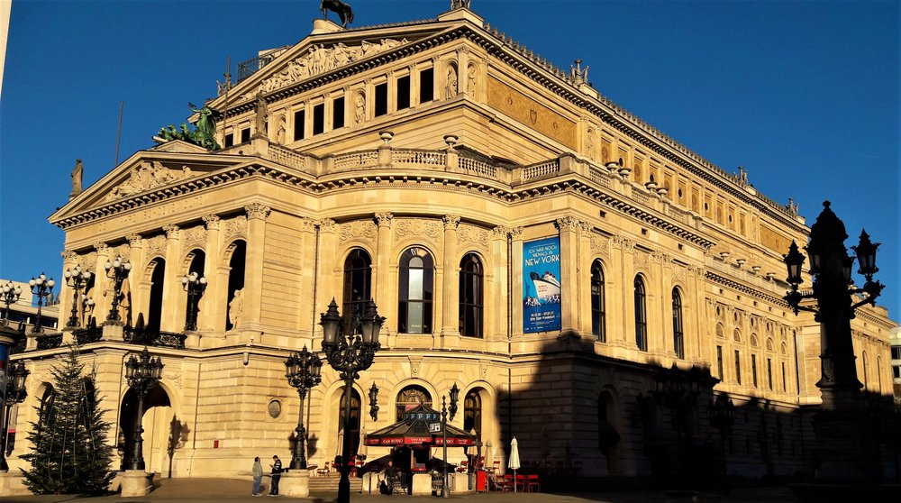 Visiting the Alter Oper is one of the top things to do in Frankfurt, Germany