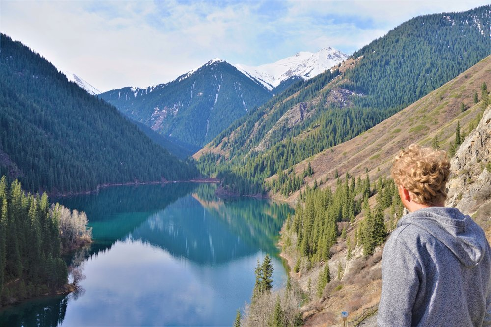 visiting the kolsai lakes from almaty