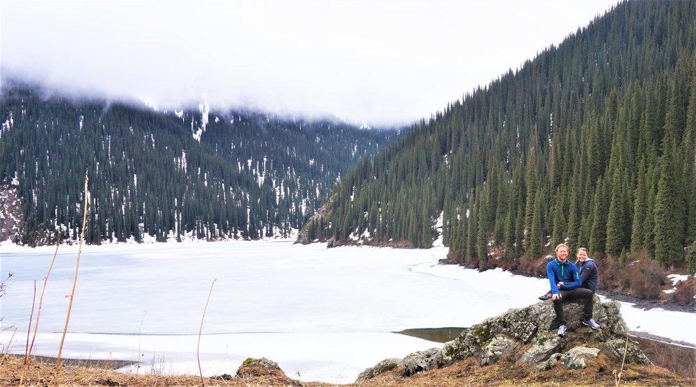 kolsai lakes in the off season