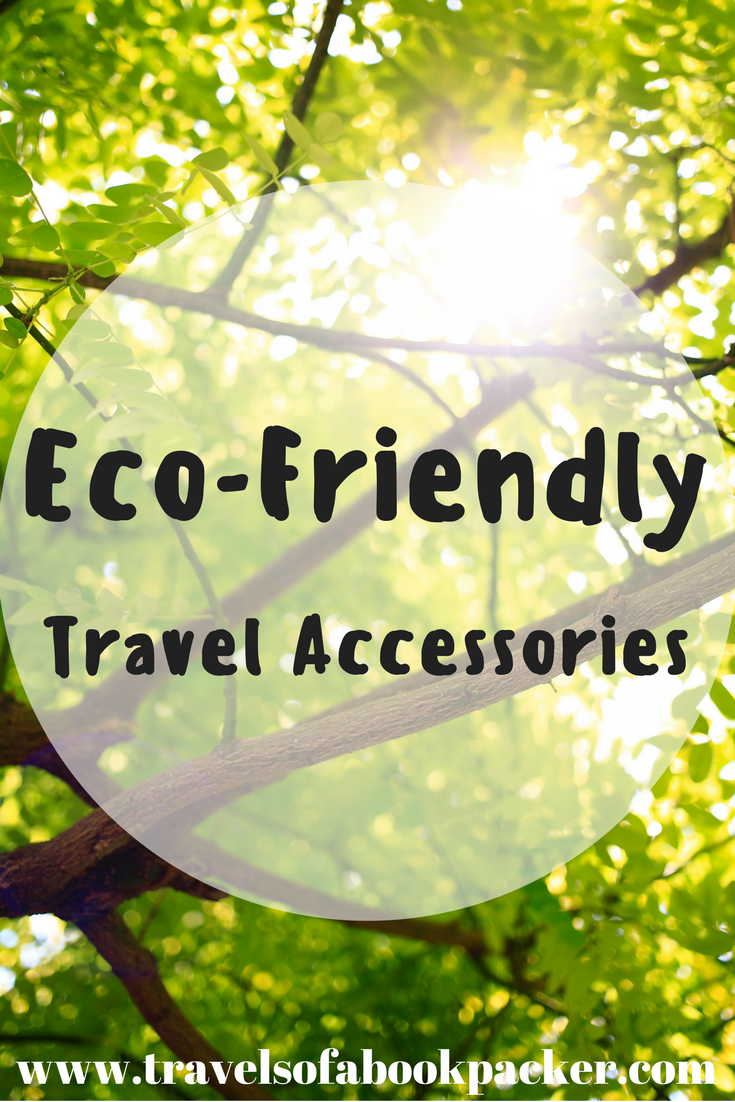 Do you want to be environmentally friendly while you travel? These little eco-friendly travel accessories reduce your impact on the planet. Travel green! #ecofriendly #savetheplanet #travelgreen #environmentallyfriendly #travelideas #travelaccessories