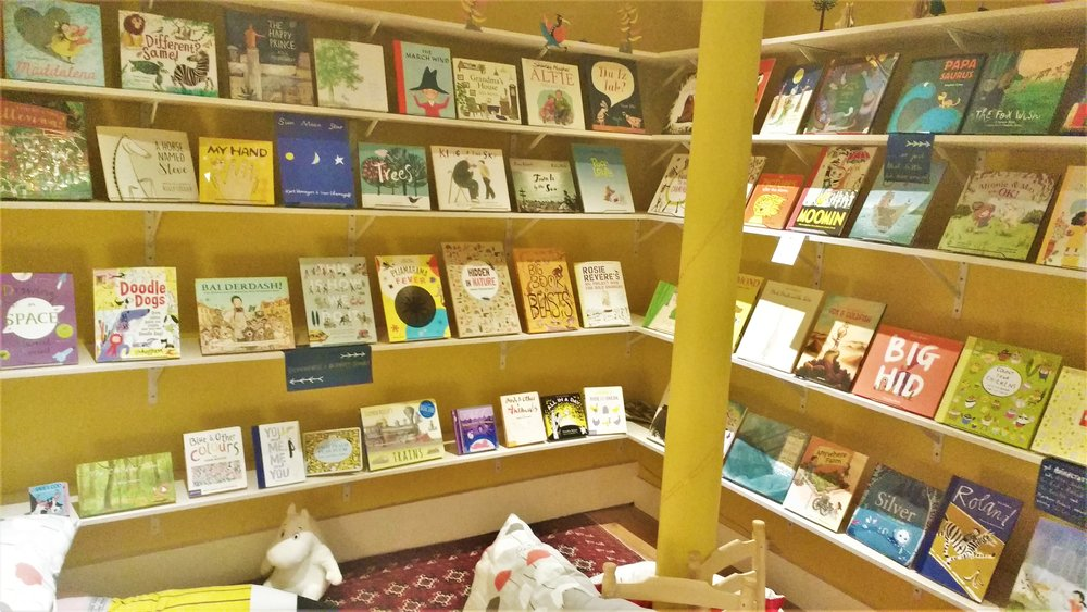 best bookstores in edinburgh Golden hare books