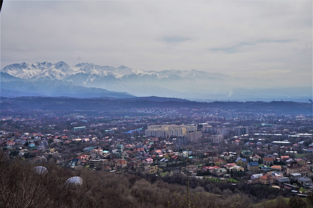 things to do in almaty kok tobe hill