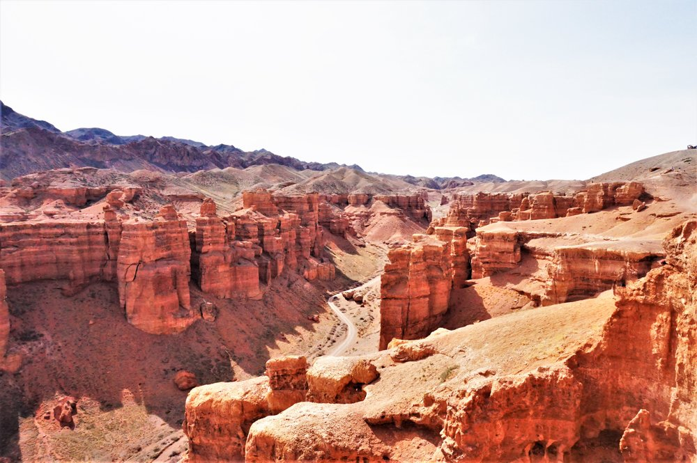 visiting the charyn canyon from almaty