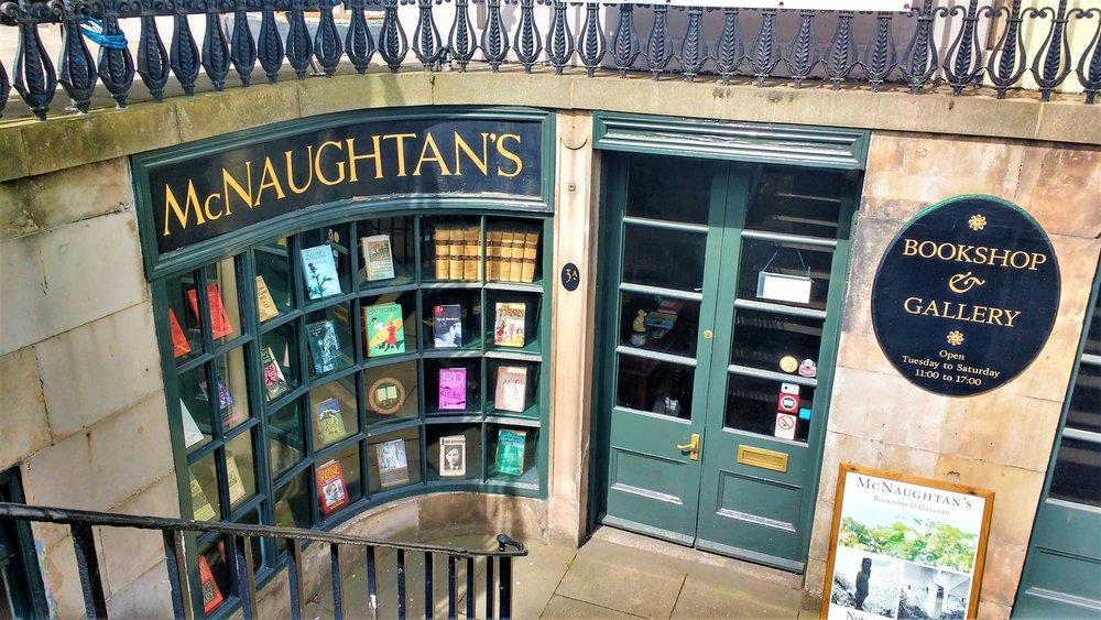 best bookshops in Edinburgh